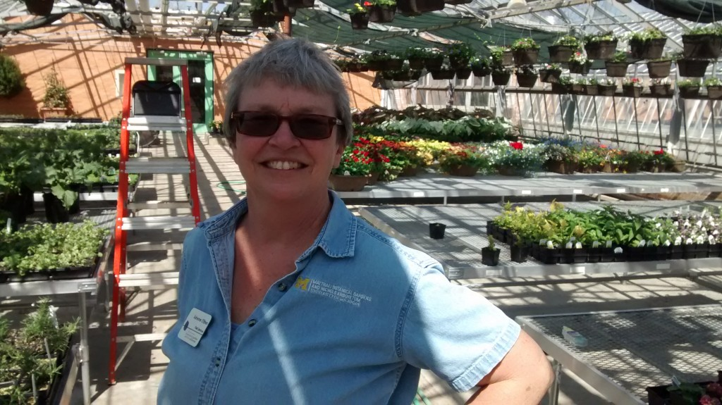 Horticulturist Adrienne _________ leads team of plant grower at Matthaei Botanical Gardens - Nichols Arboretum