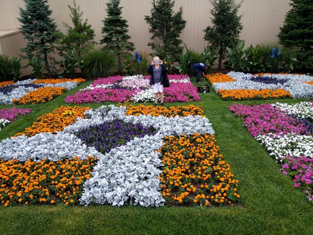 Another quilt garden.